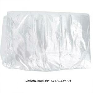 50Pcs Disposable Clothes Dust Bags Dry Cleaning Clothes Covers 60*120cm