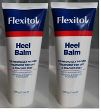 FLEXITOL 200g x2 Heel Balm 25% Urea Dry Cracked Feet Foot Care Repair Total 400g