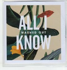 (EQ981) Washed Out, All I Know - 2013 DJ CD