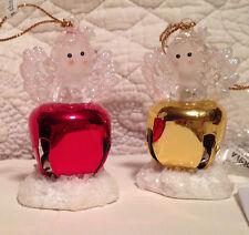 Jingle Buddies Lighted Angel Christmas Ornaments
