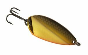 13 Fishing Origami Blade Golden Shiner 3/16 oz Ice Spoon Lure OB-GS316