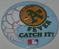 "1980's Oakland ""A's Fever.....Catch It!"" - Has Spots 3"" The Swingin' A's"