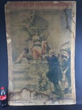 Grande affiche-«2e EMPRUNT DE LA DEFENSE NATIONALE 1916«ROBAUDI-déco art nouveau