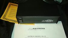Astron POWER SUPPLY 10amp 13.8volt Regulated7A cont. Ham Radio, MFJ items, CB