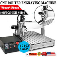 3 AXIS USB 6040 CNC ROUTER ENGRAVER DRILLING ENGRAVING CARVING MACHINE BALLSCREW