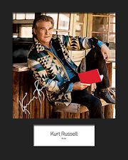KURT RUSSELL #2 Signed (Reprint) 10x8 Mounted Photo Print - FREE DELIVERY