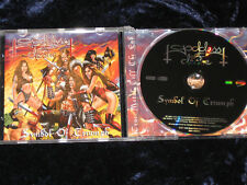Goddess Of Desire ‎CD Symbol Of Triumph SIGNED Metal Blade 3984-14248-2   EX/EX