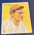 1933 GOUDEY BASEBALL #206 GUS SUHR PITTSBURGH PIRATES~FREE SHIPPING