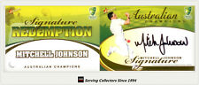 2007-08 Select Cricket Cards Signature Redemption Card Mitchell Johnson-Rare