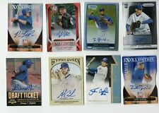 (24) Card Chicago Cubs Rookie  Jersey Auto Lot