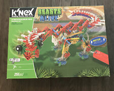K'Nex Beasts Alive K'Nxosaurus Rex Building 255 Pc With-Motor Age 7+ Dino New