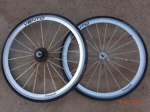 Vintage Campagnolo Vento Wheel Set Record