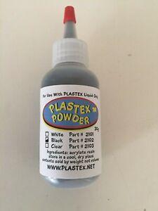 PLASTEX #2102 BLACK  30G POWDER REFILL