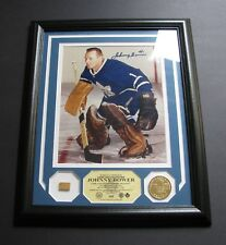 JOHNNY BOWER HIGHLAND & MINT GAME USED COLLECTION 8X10 PHOTO SIGNED FRAMED / COA