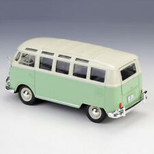 1960s VW Volkswagen Classic VAN SAMBA Bus Model 1/25 Diecast Toys Gift Alloy
