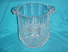 Lead Crystal Two-Handles Champange Ice Wine Bucket