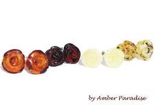 Butterfly Amber Fine Earrings