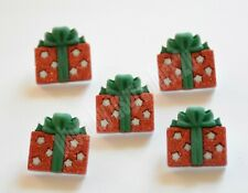 Glitter Gifts / Christmas Presents ~ Gifts / Holiday Shank Buttons