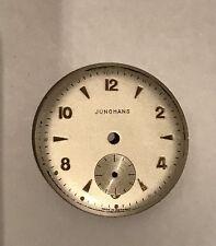 JUNGHANS -NUR ORIGINAL  ZIFFERBLATT-28 mm-GUTER ZUSTAND