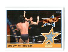 WWE Cody Rhodes 2014 Topps Event Used SummerSlam 2013 Mat Relic Card