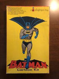 Vintage 1966 Colorforms Batman Cartoon Kit 401 w/ Original Box nearly complete