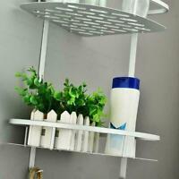ABS nahtlose rotierende Stativ Badezimmer Regal Ecke Bad Lagerung Inhaber G9D8