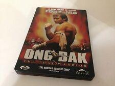 Ong Bak Thai Warrior DVD Limited Edition Steelbook! Tony Jaa! FREE USA SHIPPING!