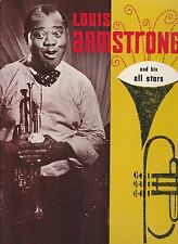 Louis Armstrong And His All Stars 1960'S Concert Program