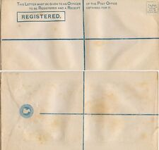 GB QV REGISTERED STATIONERY ENVELOPE SCALLOPED 2d SIZE K...14 MAY 1878...L1