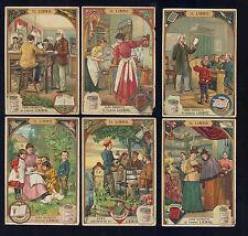 Chromo LIEBIG Figurine IL LIBRO serie 562 anno 1898 ITA