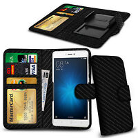 Clip On PU Leather Flip Wallet Book Case Cover For Xiaomi Redmi Note 2