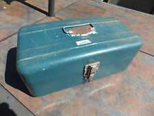 Vintage Union No. 5314 Tool / Fishing Box Utility Chest W/ Spill Proof Lock
