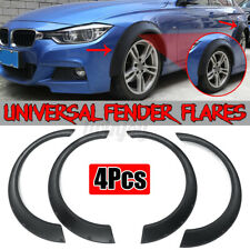 4X 800mm Universal Flexible Car Fender Flares Extra Wide Body Wheel Arches Kits