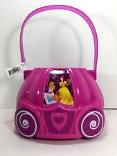 Disney PRINCESS Belle Cinderella Candy Toy BUCKET Figure Storage Bin Gift Basket