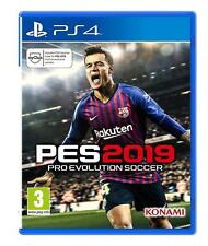 NEW & SEALED! Pro Evolution Soccer 2019 Sony Playstation 4 PS4 Game