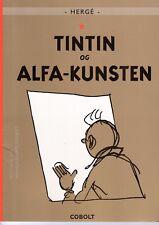 TINTIN ALPH ART EDITION EN DANOIS RARE TBE (EXEMPLAIRE SERVICES TECHNIQUES)