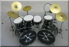YOSHIKI X-Japan  Miniature DrumSet  Drum Set Hide ( for display only )
