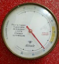 Pêcheurs météo d/'attente étrangère acier inoxydable baromètres thermomètres 803-01 hygromètre