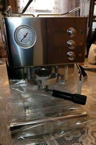 """Quick Mill Senago Lucido Commercial """"PODS"""" Espresso Cappuccino Machine"""