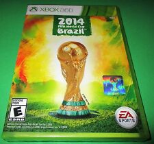 2014 FIFA World Cup Brazil Microsoft Xbox 360 *Factory Sealed! *Free Shipping!