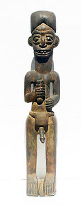 Congo Male Nude wood carving