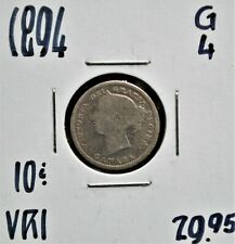 1894 Canada 10 Cents