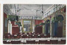 Wiesbaden Neues Kurhaus Grosser Lesesaal Vintage Postcard Germany 399a