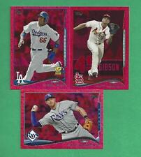 2014 Topps Series #1 Baseball RED FOIL Set 1-331 (330 cards) TROUT + JETER +PUIG
