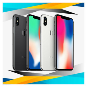 Apple iPhone X 64GB/256GB (GSM) Unlocked AT&T T-Mobile Verizon 4G Smartphone