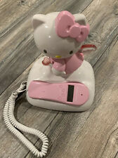 Hello Kitty Corded Caller id Phone Light Up Landline Home Telephone