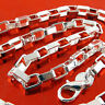 Necklace Chain Real 925 Sterling Silver S/F Solid Unisex Link Design