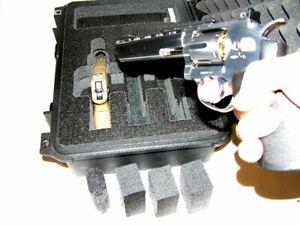 Armourcase Waterproof 1450 case includes Quickdraw 3 Large Revolver Pistol foam