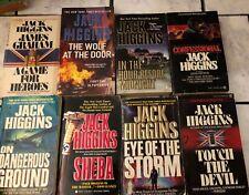 Jack Higgins Paperback Book Lot