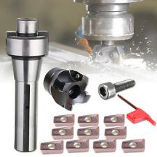 R8 FMB22 Arbor Morse Taper + 400R 50MM Face Mill Cutter +10X APMT Carbide Insert